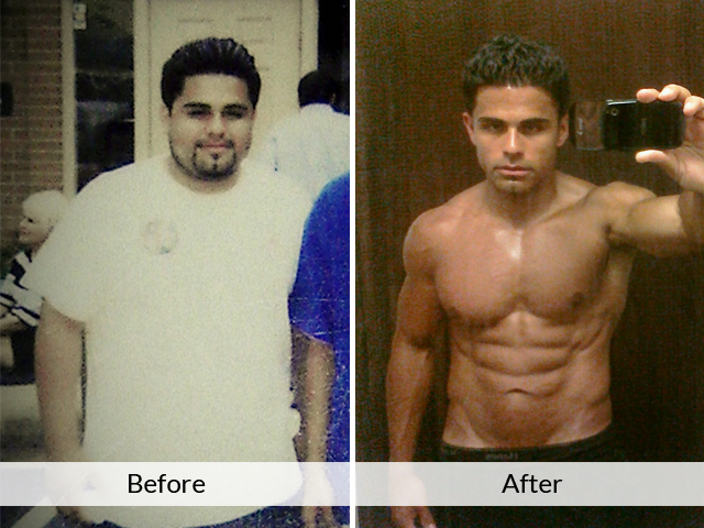 It works! Manur before and after starting training