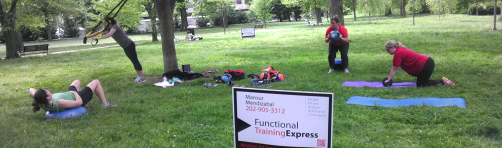 Outdoor Functional Group Training