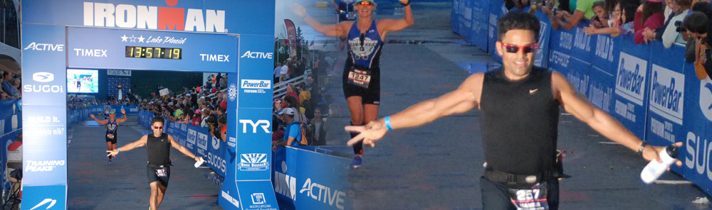 140.6 mile Ironman Finisher!