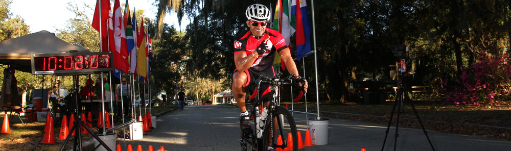 ULTRAMAN Florida -  I cycled 263 miles