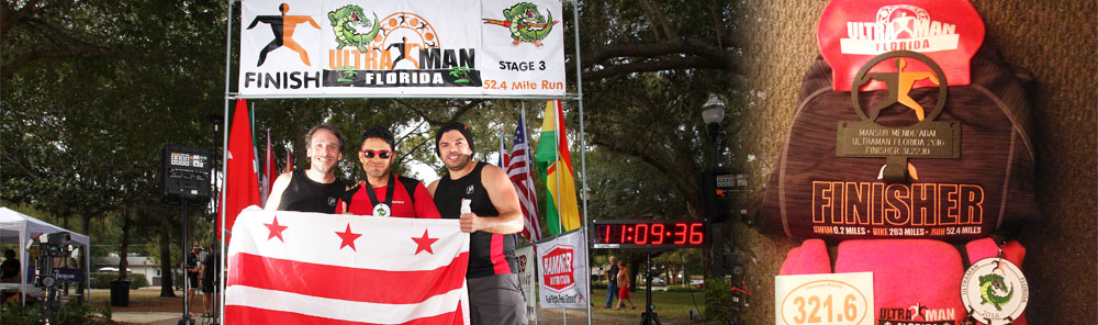 Ultraman Finisher 321.6 miles