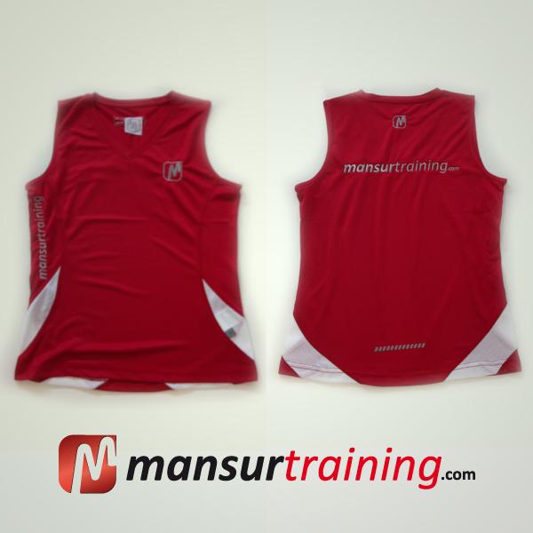 Running shirt red